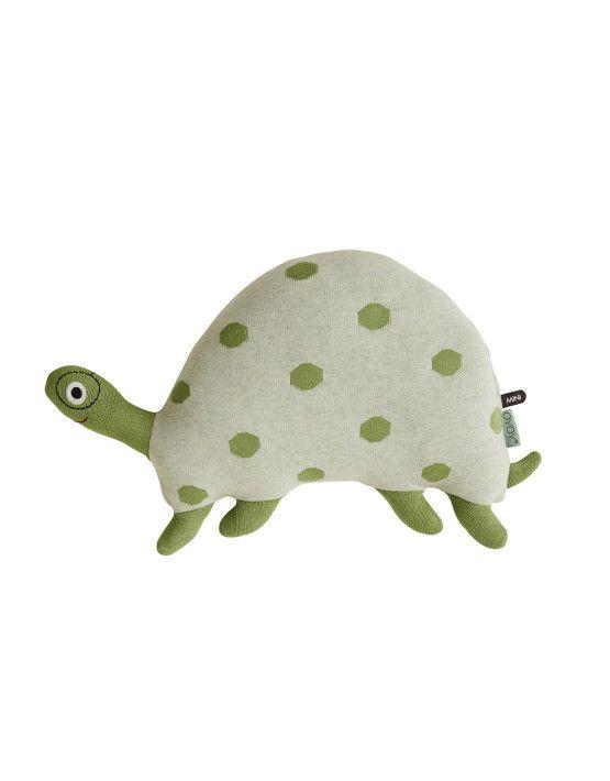 #KNUFFEL #OYOYmini #SCHILDPAD #MORTEN #turtle #softtoy #animalpillow Deze #groteknuffel van #deensdesign is helemaal #hip.  #OYOYLivingdesign #knuffel Morten is Groen / Groen Melange #scandinaviandesign #nordic #kidsroomdeco Maat: h33 x l 42 x w14 cm #jacquardknit #fiberfill vulling