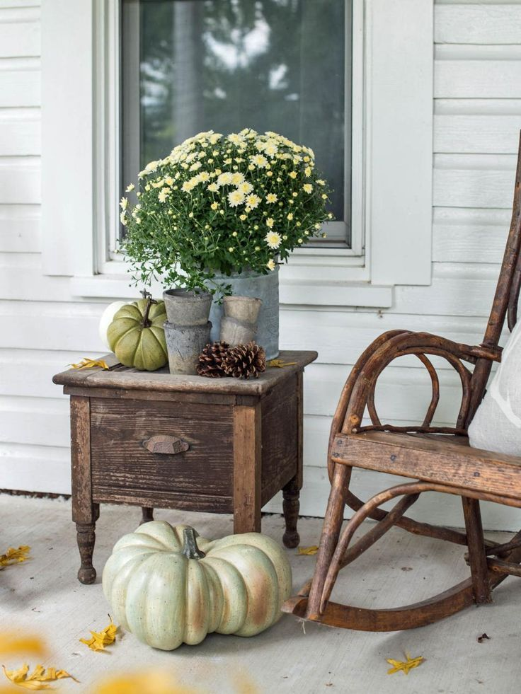 Freshen up your front porch for fall