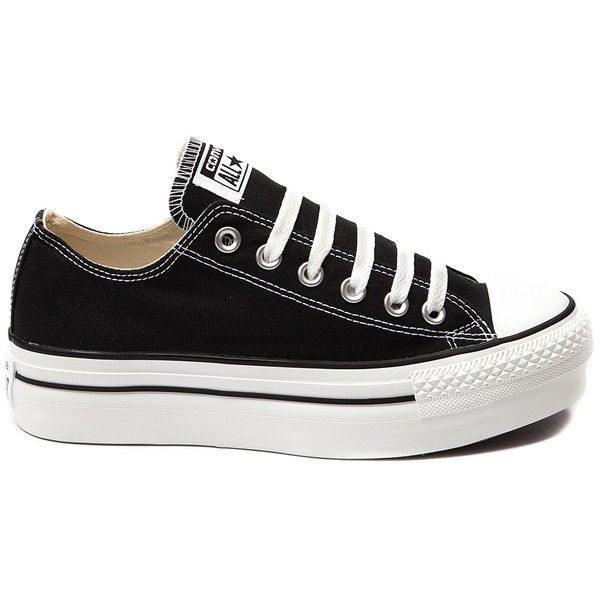 Womens Converse All Star Lo Platform Sneaker ($99) ❤ liked