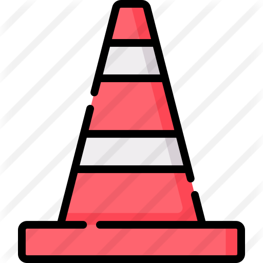 Traffic Cone Free Vector Icons Designed By Freepik Vector Icon Design Vector Icons Vector Free