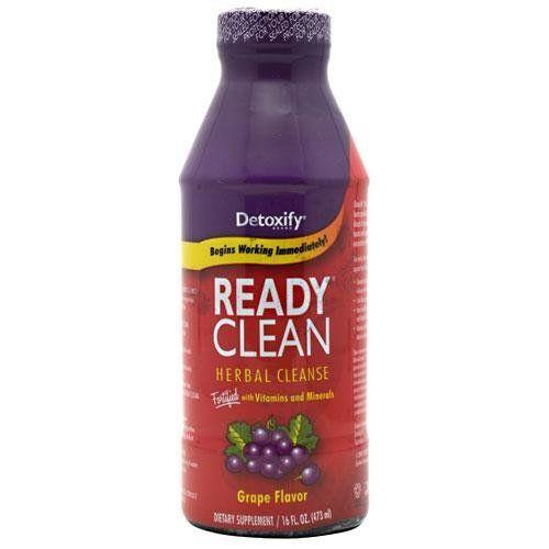 Detoxify Ready Clean Herbal Detox, Natural Grape Flavor 16 oz by Detoxify. $14.89. Detoxify Ready Clean Herbal Detox, Natural Grape Flavor 16 oz