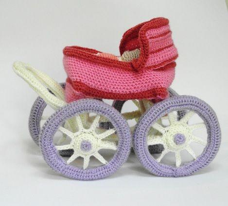 patr n carrito beb amigurumi pinterest patrones bebe et amigurumi. Black Bedroom Furniture Sets. Home Design Ideas