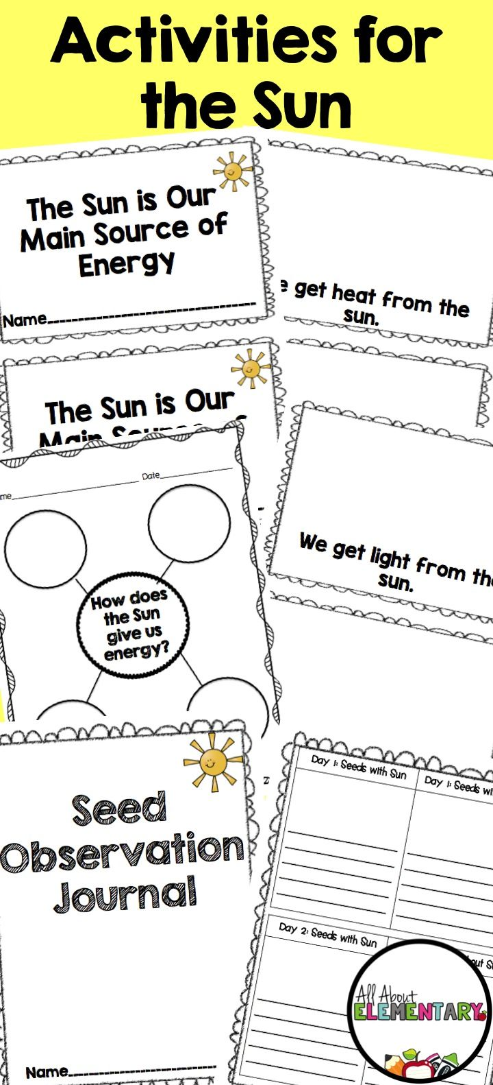 small resolution of Sun Close Read   Kindergarten science lessons