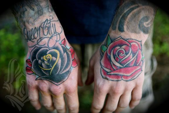 This Rose Hand Tattoo For Apply This Amazing Image Of Hands Tattoos
