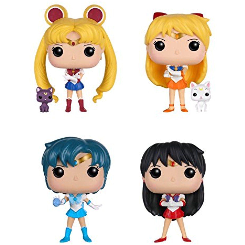 Funko Sailor Moon POP! Anime Action Figure Collectors Set