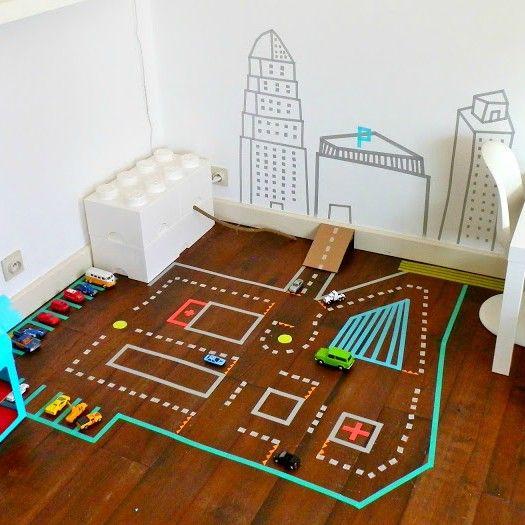 DIY: Washi Tape In De Kinderkamer