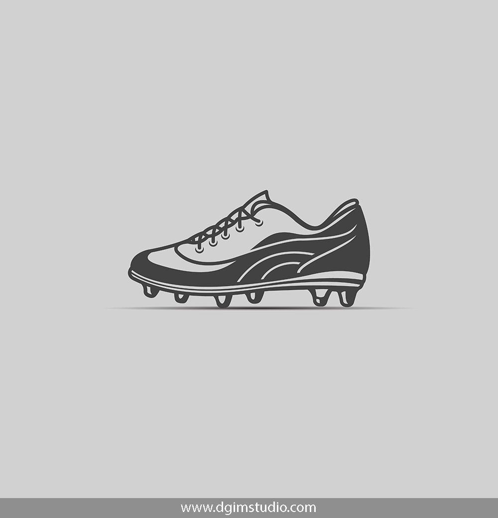 Soccer Elements Set Apparel Design Soccer Shoes Drawing