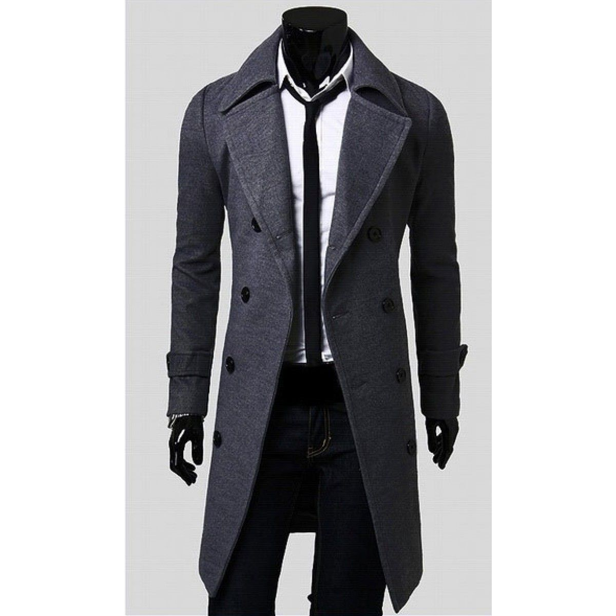 manteau long homme | Manteau long homme, Trench coat homme