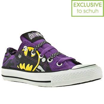 5f3c0bd82122 Women s Black   Purple Converse All Star Ox Iii Catwoman Dc at schuh ...