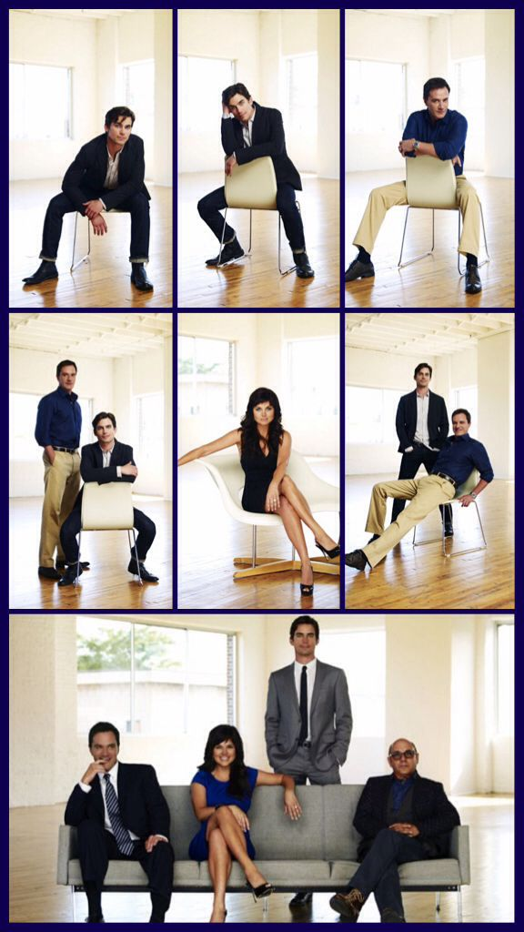 Every Character Is Soo Perfect They Look Like A Family White Collar Matt Bomer White Collar White Collar Actor