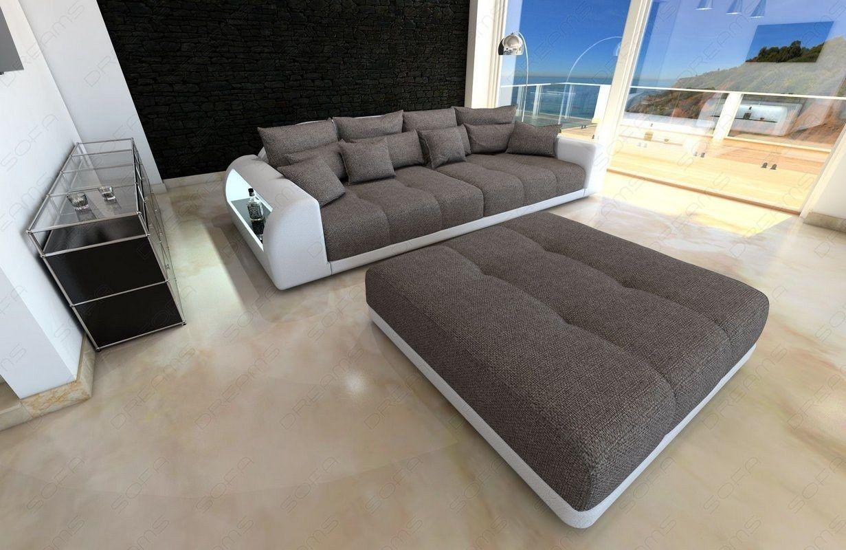 Big Sofa Miami | Wohnzimmer sofa, Sofa stoff und Sofa