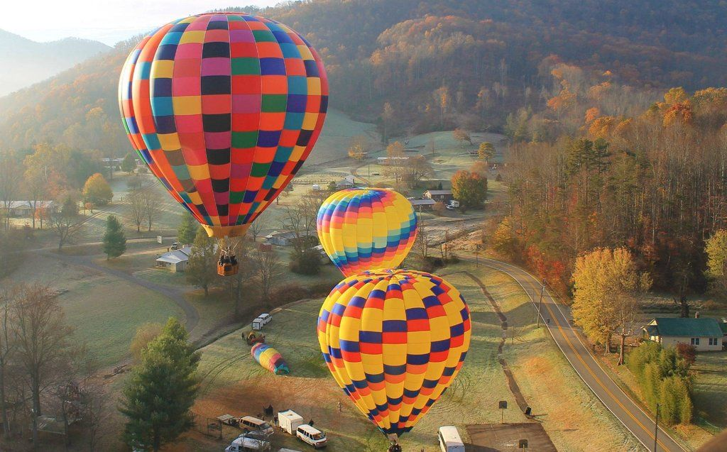 Asheville Hot Air Balloons (NC) You're Full of Hot Air