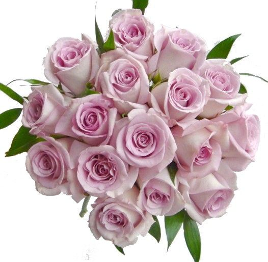 Cool Weather Wedding Flowers: Brides Bouquet With Cool Water Rose Lilac Cool Water Roses