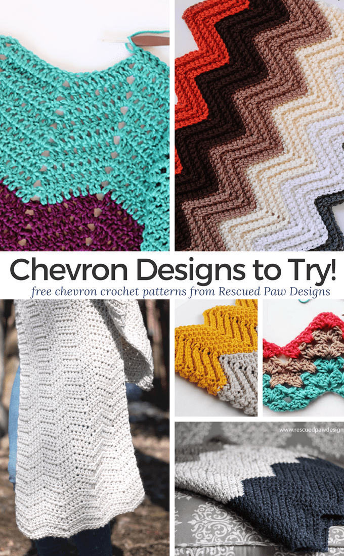 8 Crochet Chevron Patterns Free Chevron Crochet Patterns To Try
