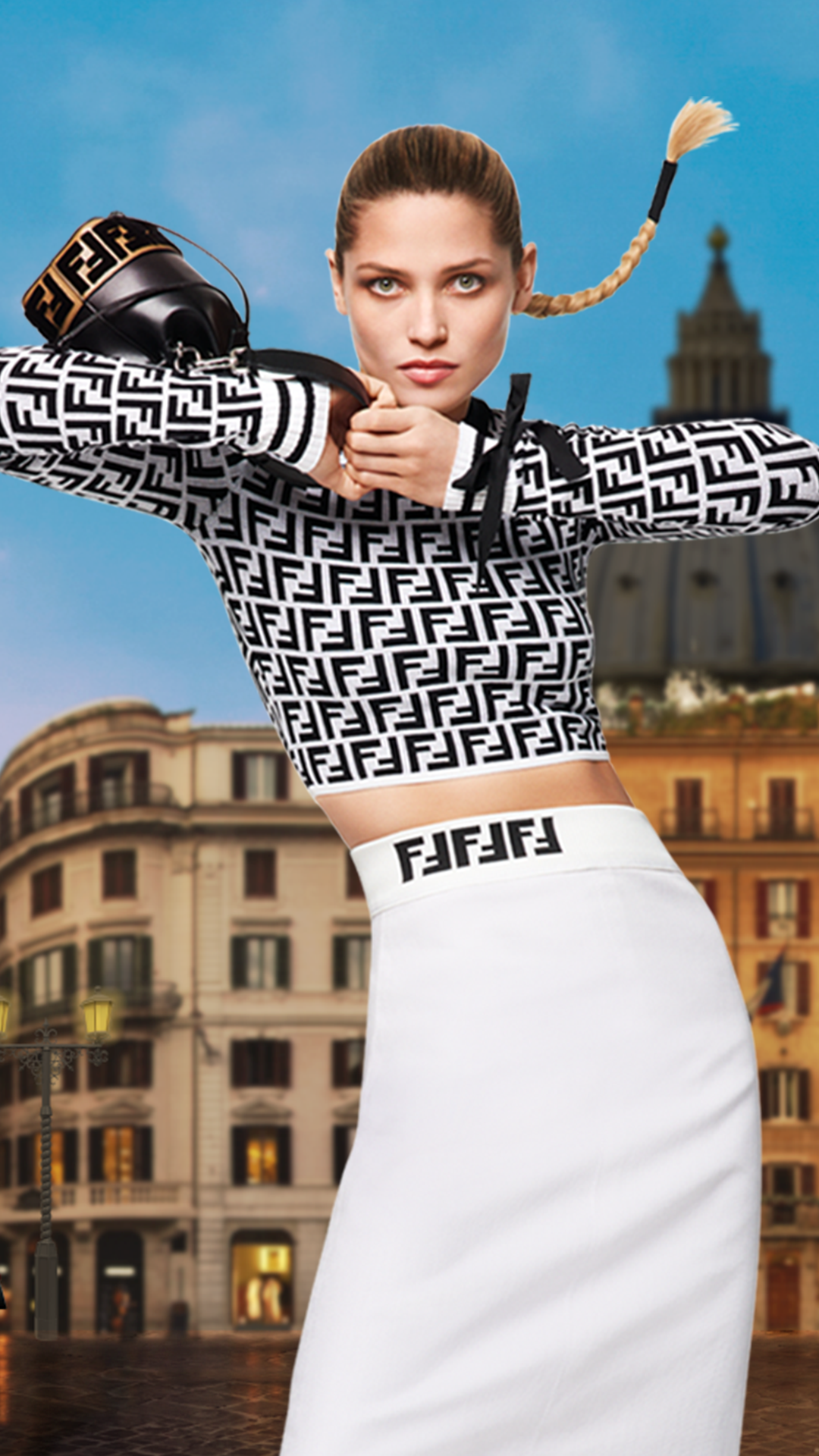 Get This Dress And Accessories At Its Fashion Metro In: Get Set For Fendi's Iconic Logo As You've Never Seen It