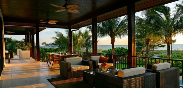 Wicker Patio Furniture Hawaii Sunset Deck Wicker Chairs
