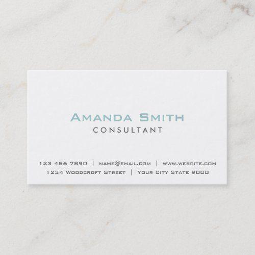 Elegant Professional Plain White Makeup Artist Business Card Zazzle Com Makeup Artist Business Cards Artist Business Cards Makeup Artist Business
