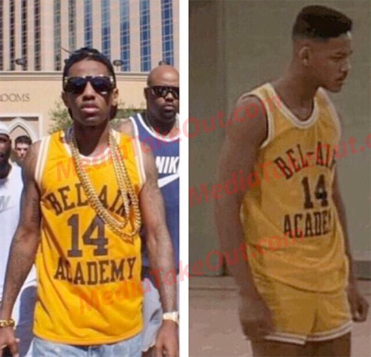 297dc08b1fea Rapper FABOLOUS Has The BEST COLLECTION Of Sports Jersey s EVER . . . Trust  Us . . . You ll Be IMPRESSED By What He s GOT!!!