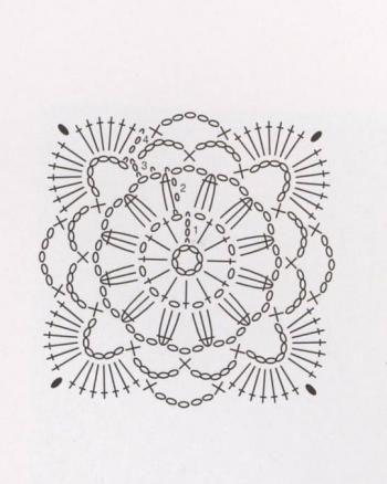 diagramme rosace Crochet Pinterest Crochet