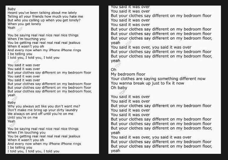 Pin On 1d Bedroom floor liam payne lyrics