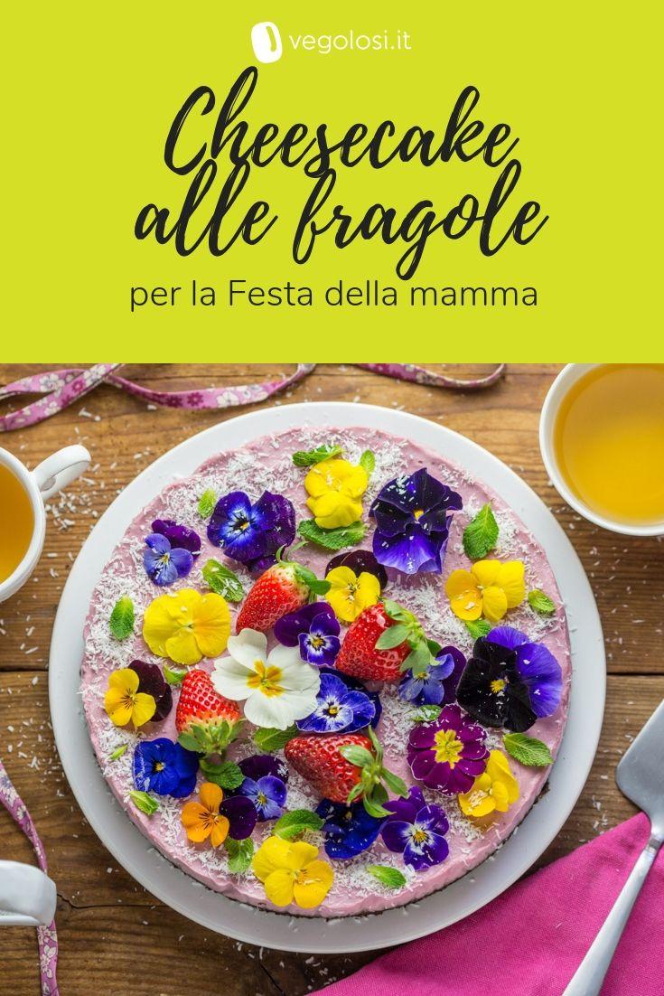 Photo of Cheesecake vegana alle fragole