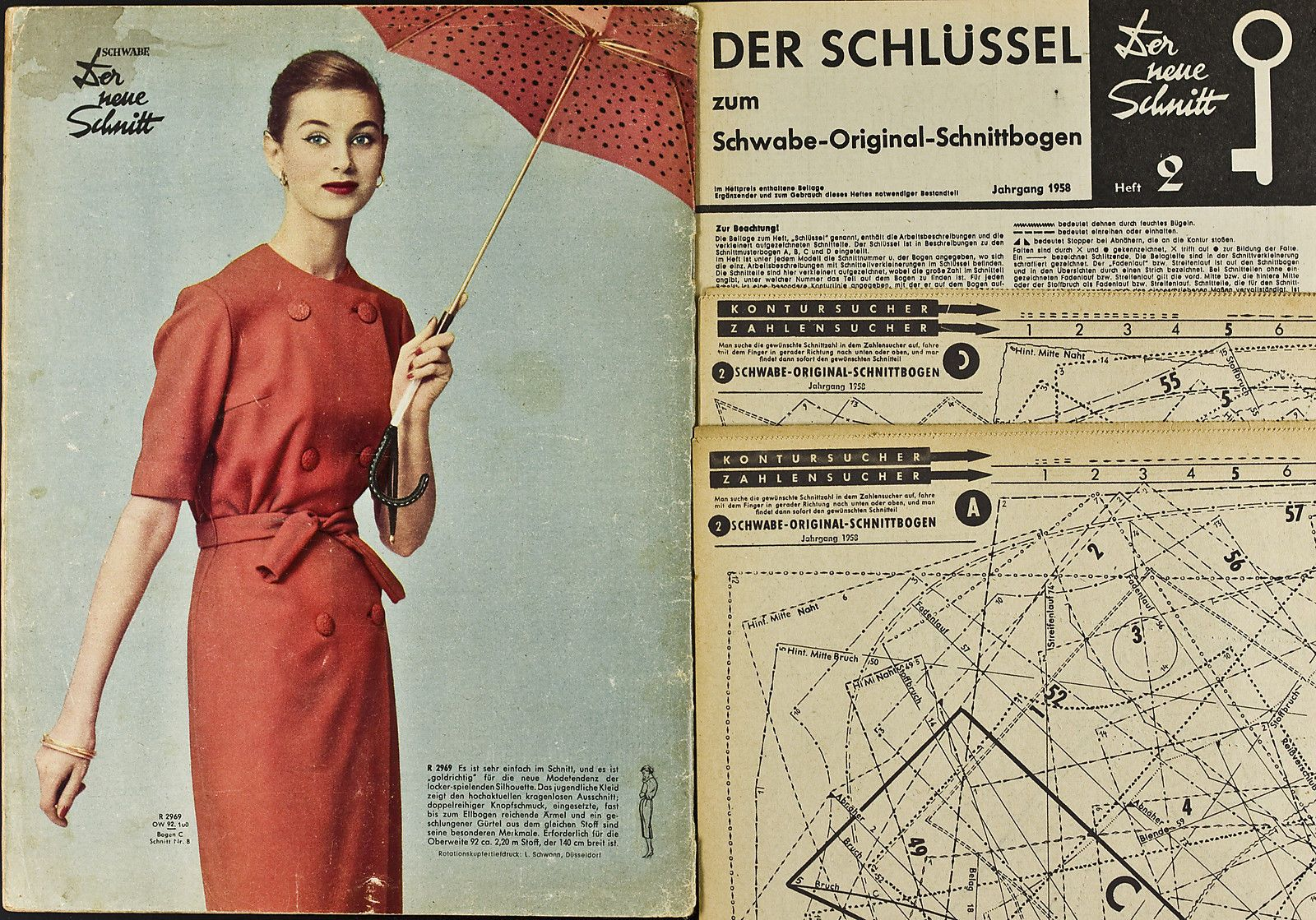 1950s Fashion. \