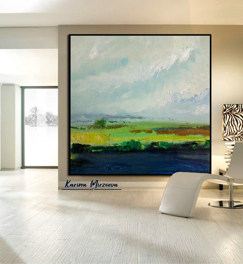 Extra Large Wall Art Landscape Large Wall Art Landscape Canvas Etsy Large Landscape Painting Canvas Painting Landscape Scenery Paintings