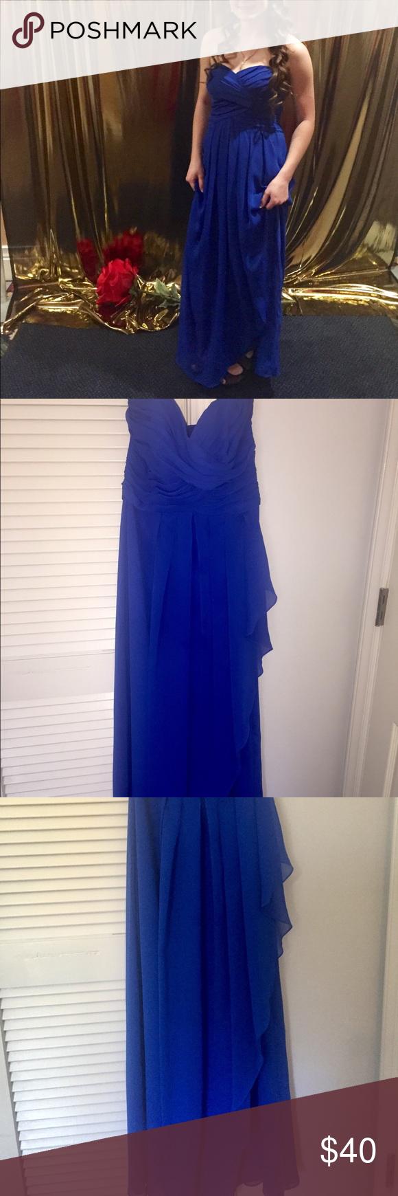 Prom dress royal blue size