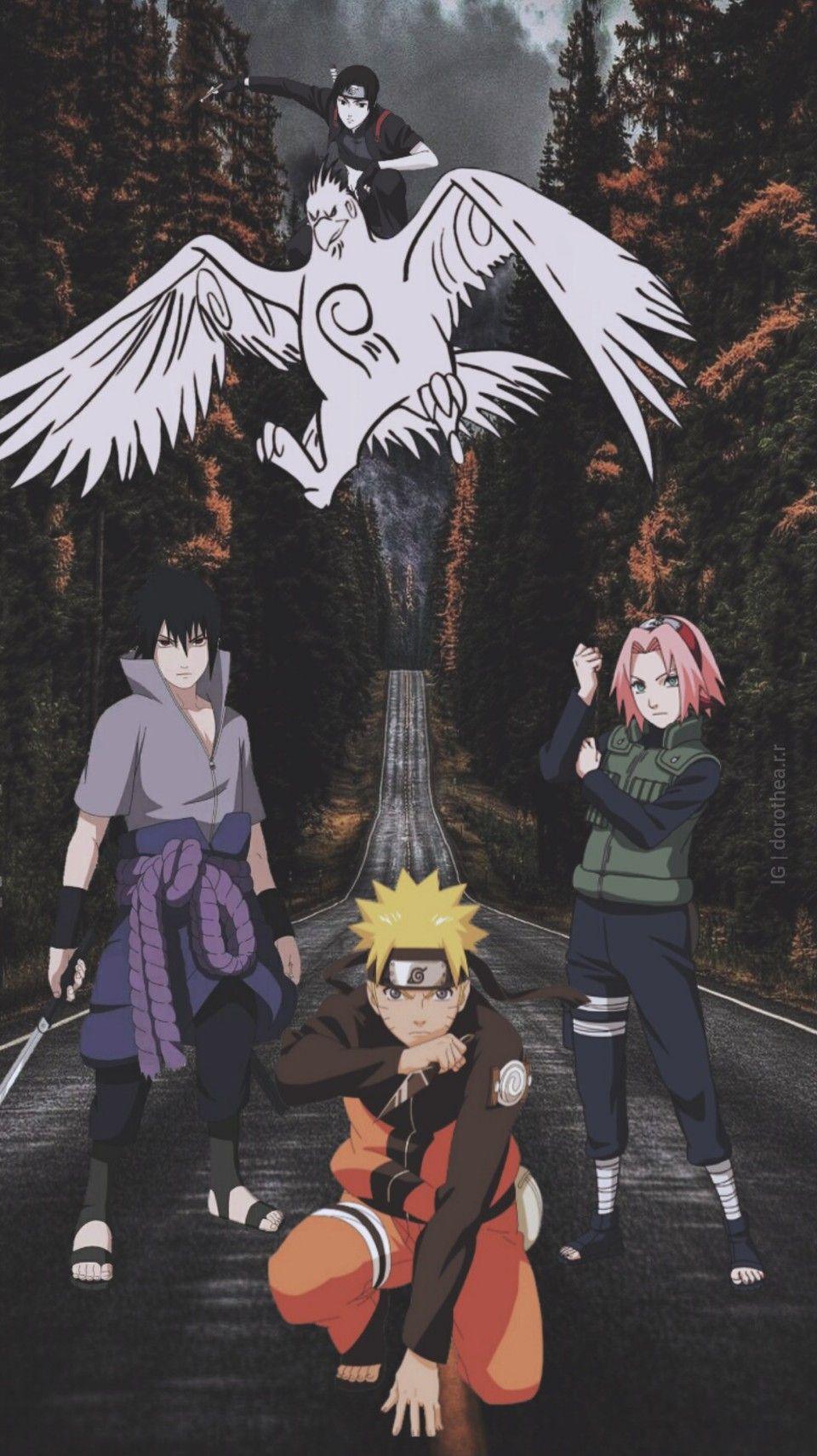 Naruto Team 7 Wallpaper Wallpaper Naruto Shippuden Naruto Characters Naruto Teams