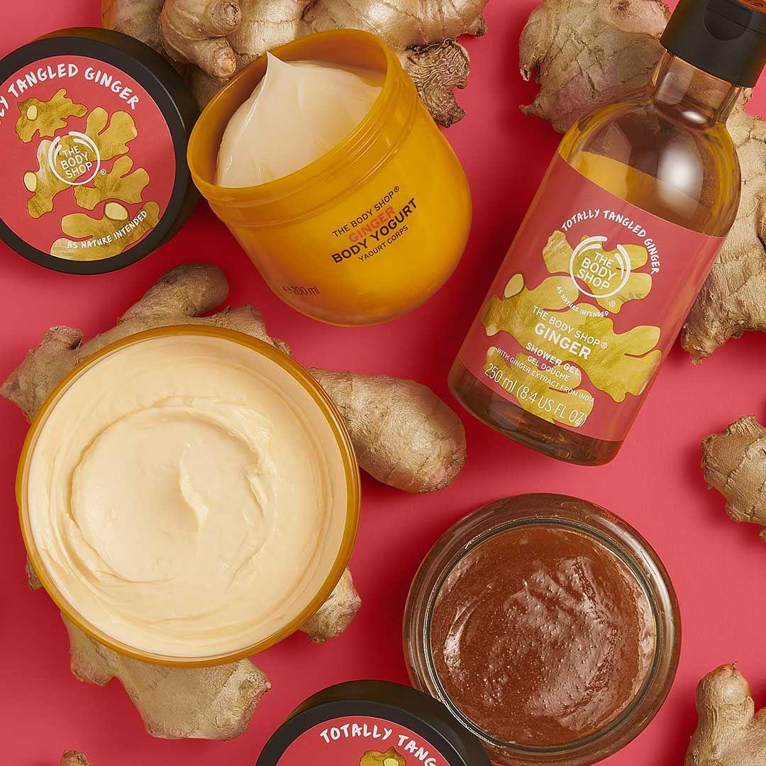 Body Yogurt de Jengibre Edición Especial | The body shop, Jengibre ...