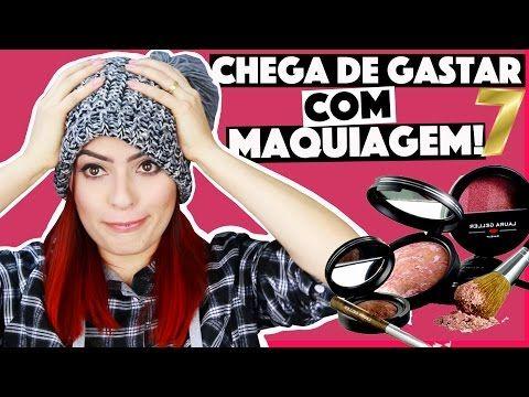 Criando Kit De Maquiagem Caseira Sem Gastar Nada 7 Kim Rosacuca