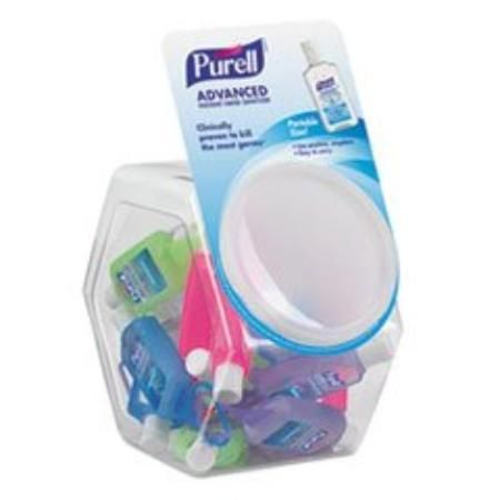 Purell Hand Sanitizer Jelly Wrap Display Bowl Lemon Scent 1 Oz