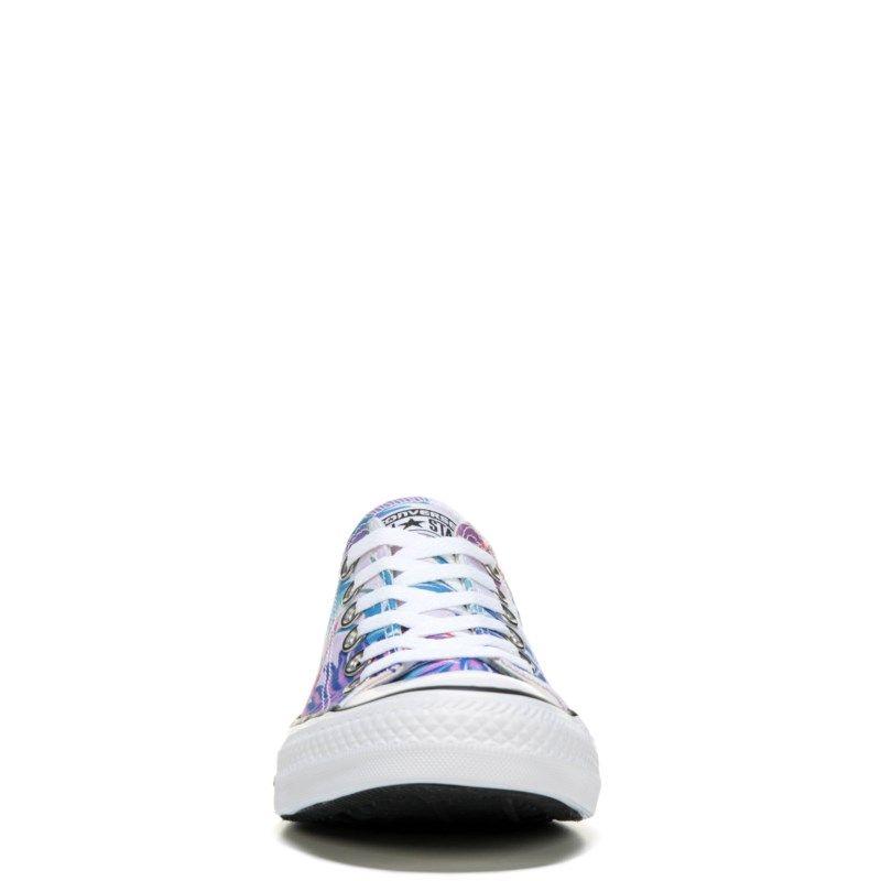 Chuck Taylor All Star Print Low Top Sneaker #whiteallstars