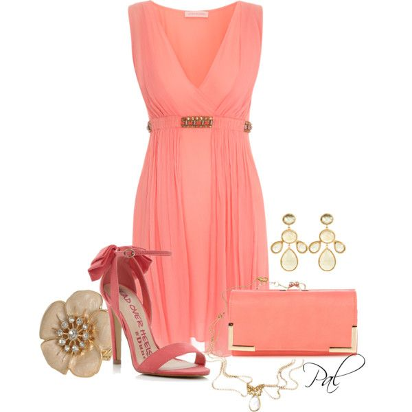 """""""Pink bows"""" by pamlcs on Polyvore"""