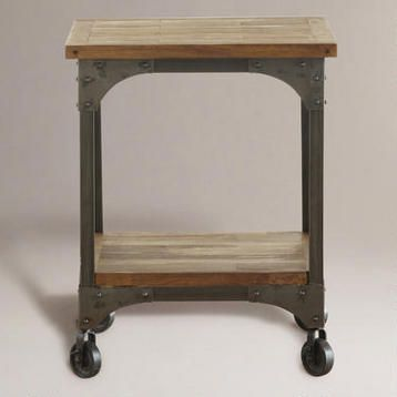 Aiden End Table At World Market Industrial Look For A Bedside