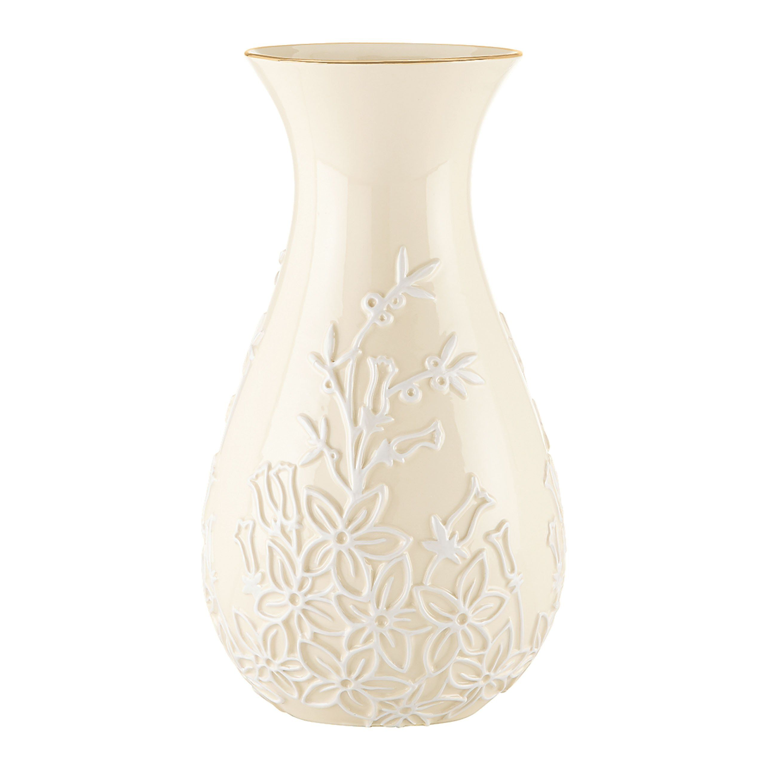 Lenox stephanotis vase 10 inch crafted of lenox fine porcelain porcelain lenox stephanotis vase floridaeventfo Image collections