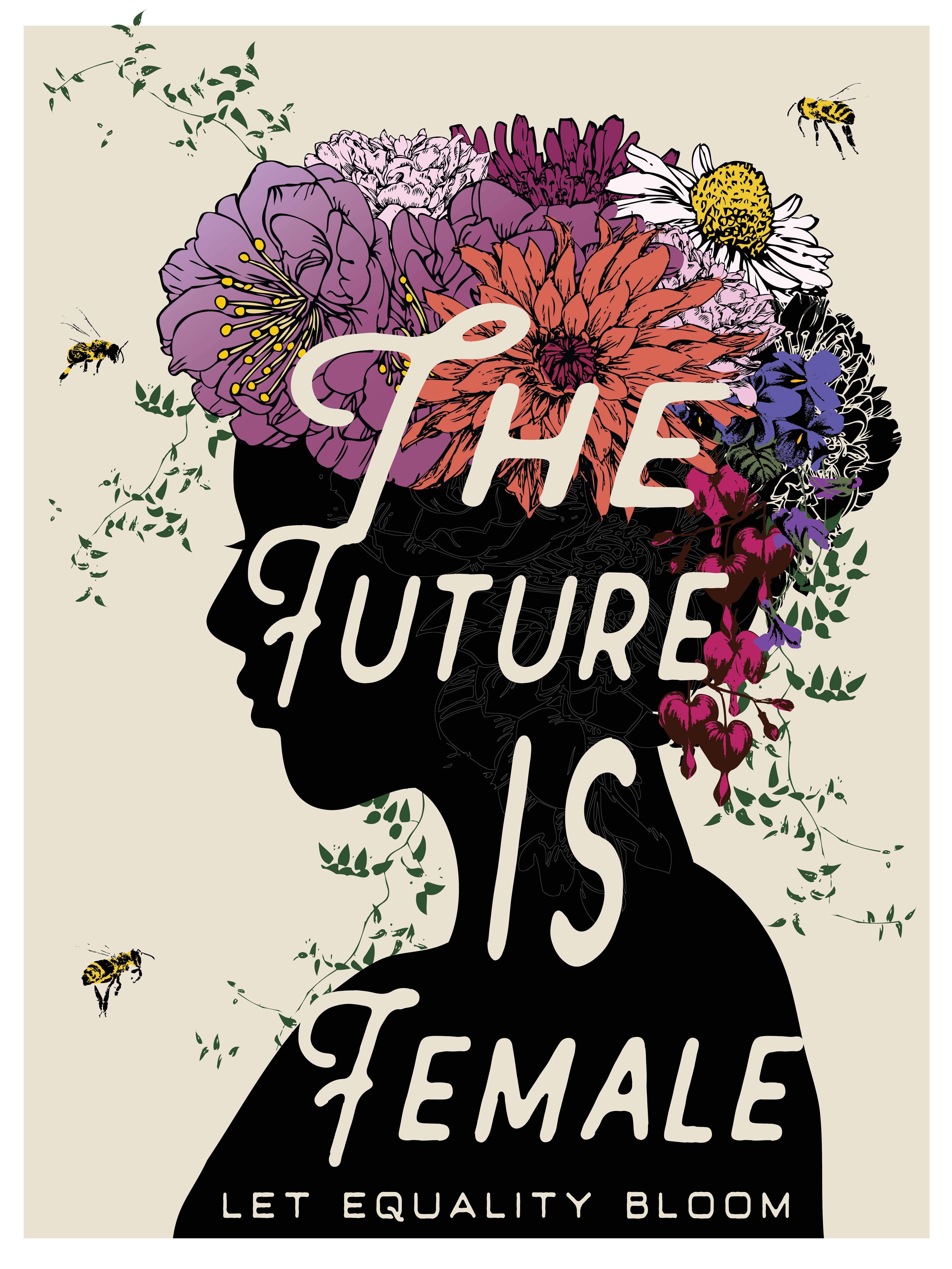 The Future Is Female 18x24 Poster