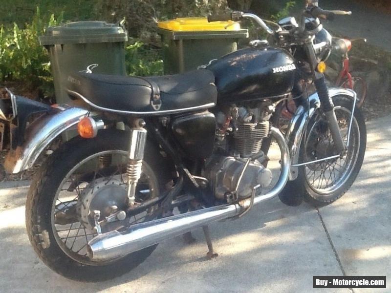 Honda Cb 450 K3 Classic Vintage Honda Hondacb450k3
