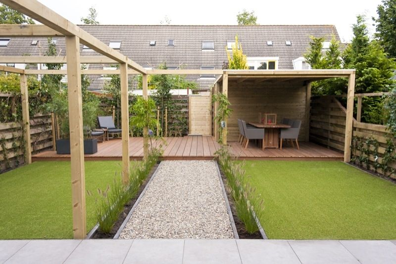 Veranda buitenparket amstelveen hovenier tuin garden pinterest verandas - Overdekte patio pergola ...