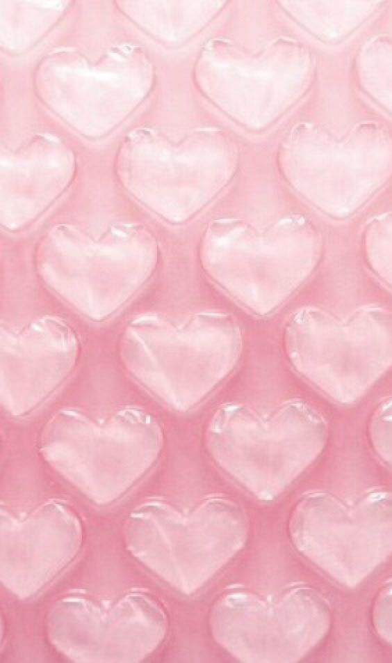 Pink Bubble Wrap Hearts All Things Iphone Wallpaper Pinterest