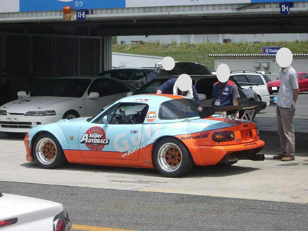 Mazdaspeed Mazda MX5 Miata Gulf Livery North American Car Racing