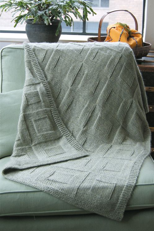 Dovetail Designs--Val Love--Three Reversible Afghans | Must  Knit
