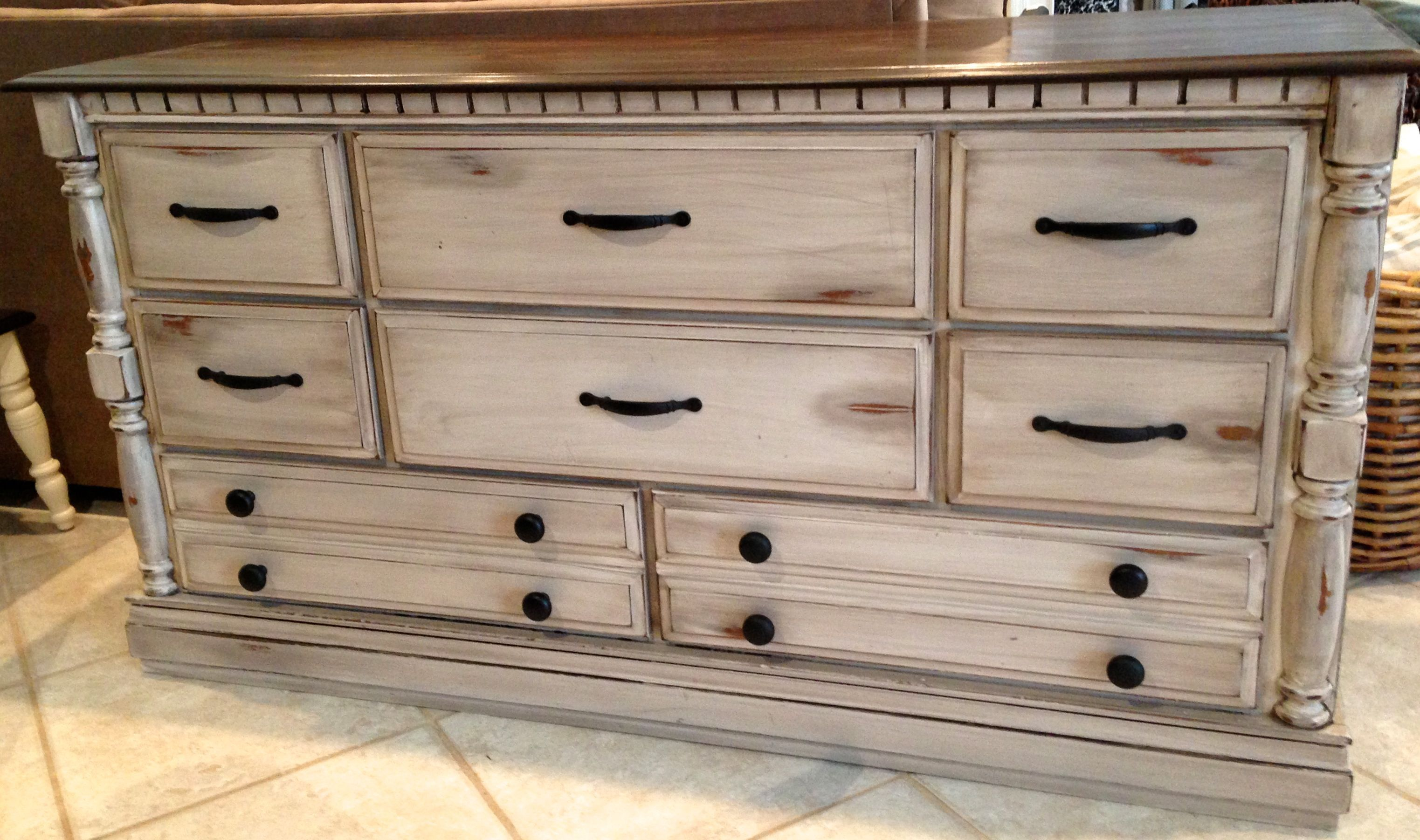 Distressed Dresser by Fisherman's Wife Furniture # ...