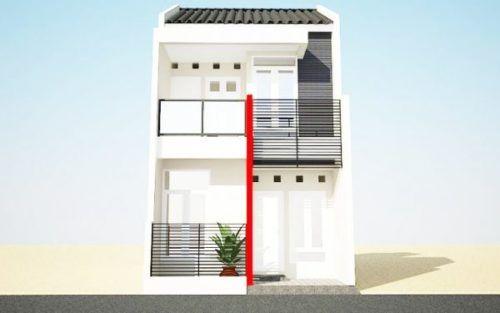 86 Gambar Rumah Minimalis 2 Lantai Lahan Sempit Terbaru