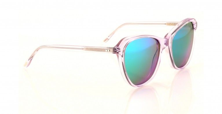 Wildfox | White Holographic  Sunglasses