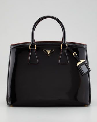 Parabole Spazzolato Tote Bag By Prada At Neiman Marcus Want Purses