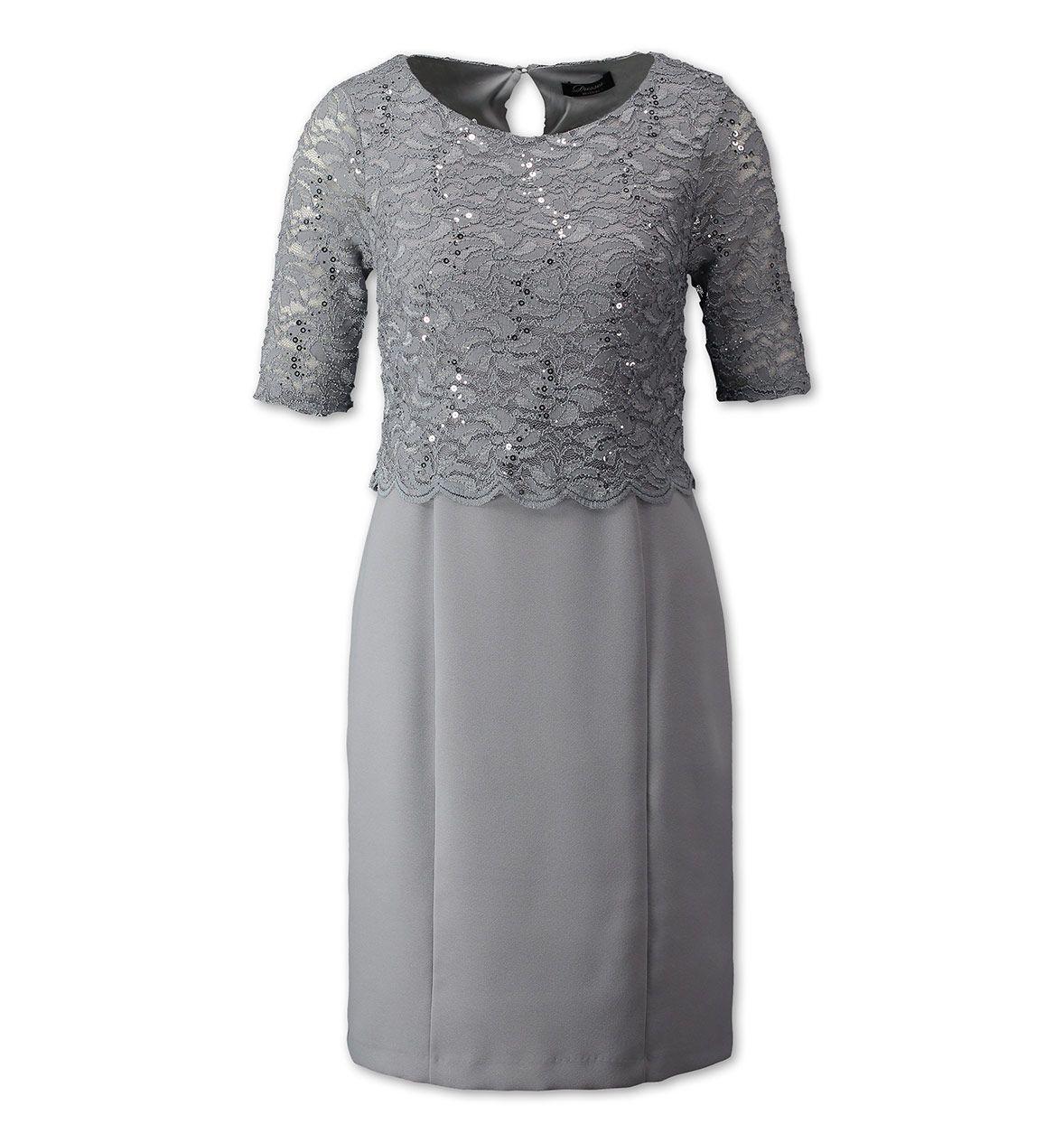 damen kleid in grau - mode günstig online kaufen - c&a