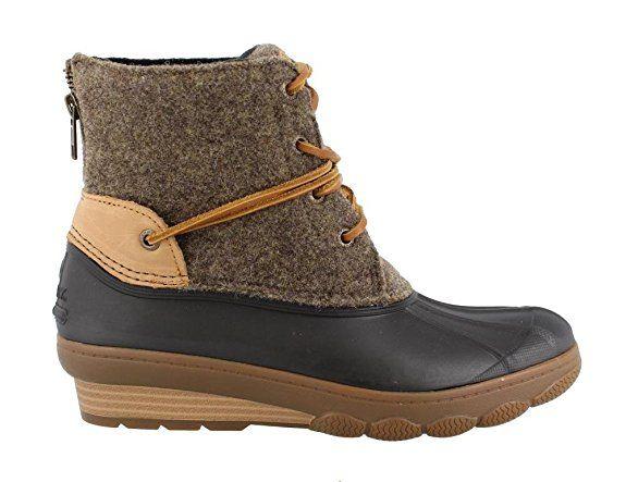 e62442c619d3 Sperry Top-Sider Women s Saltwater Wedge Tide Wool Rain Boot