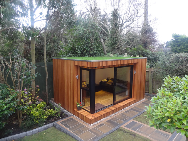 Summer house ideas google search summer house pinterest for Terrace shed ideas
