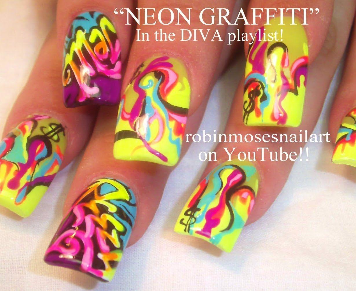 Graffiti art designs - Neon Graffiti